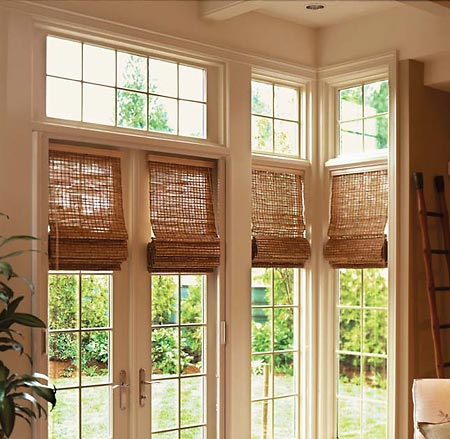Greenfield Woven Wood Shades