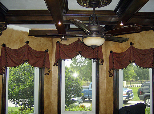 custom valances in Greenfield