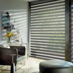 Greenfield IN Modern Designer Banded Shades